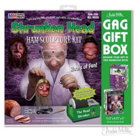 - Shrunken Head Ham Gift Box by Accoutrements - 12607