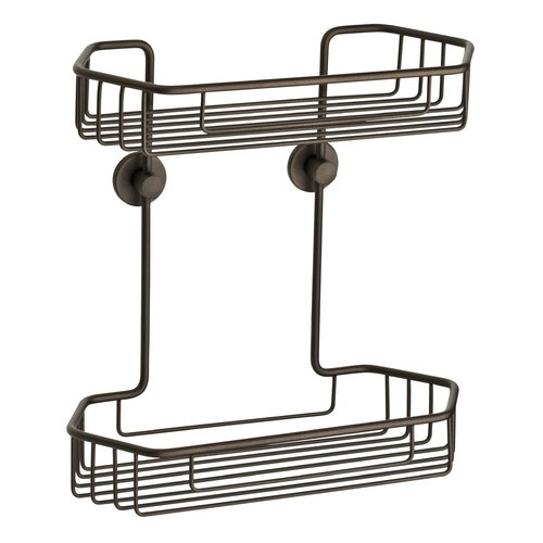 no drilling required Draad Shower Caddy by