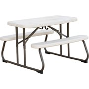 Lifetime Kid's Picnic Table, Almond