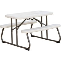 Lifetime Kid's Picnic Table, Almond
