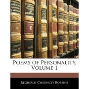 Poems of Personality, Volume 1