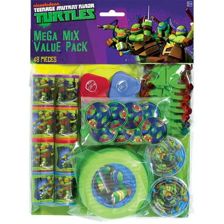Teenage Mutant Ninja Turtles Favor Pack (48pc) - Ninja Turtles Favors