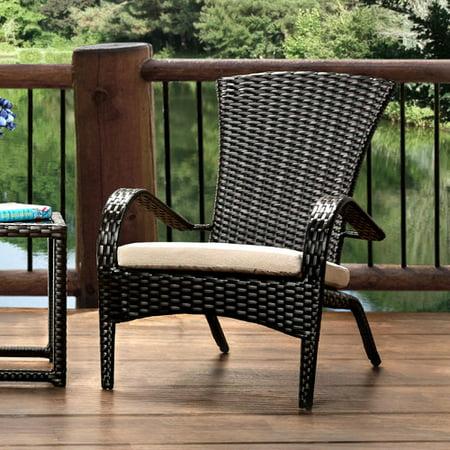 Hokku Designs Sheila Patio Arm Chair Cushion