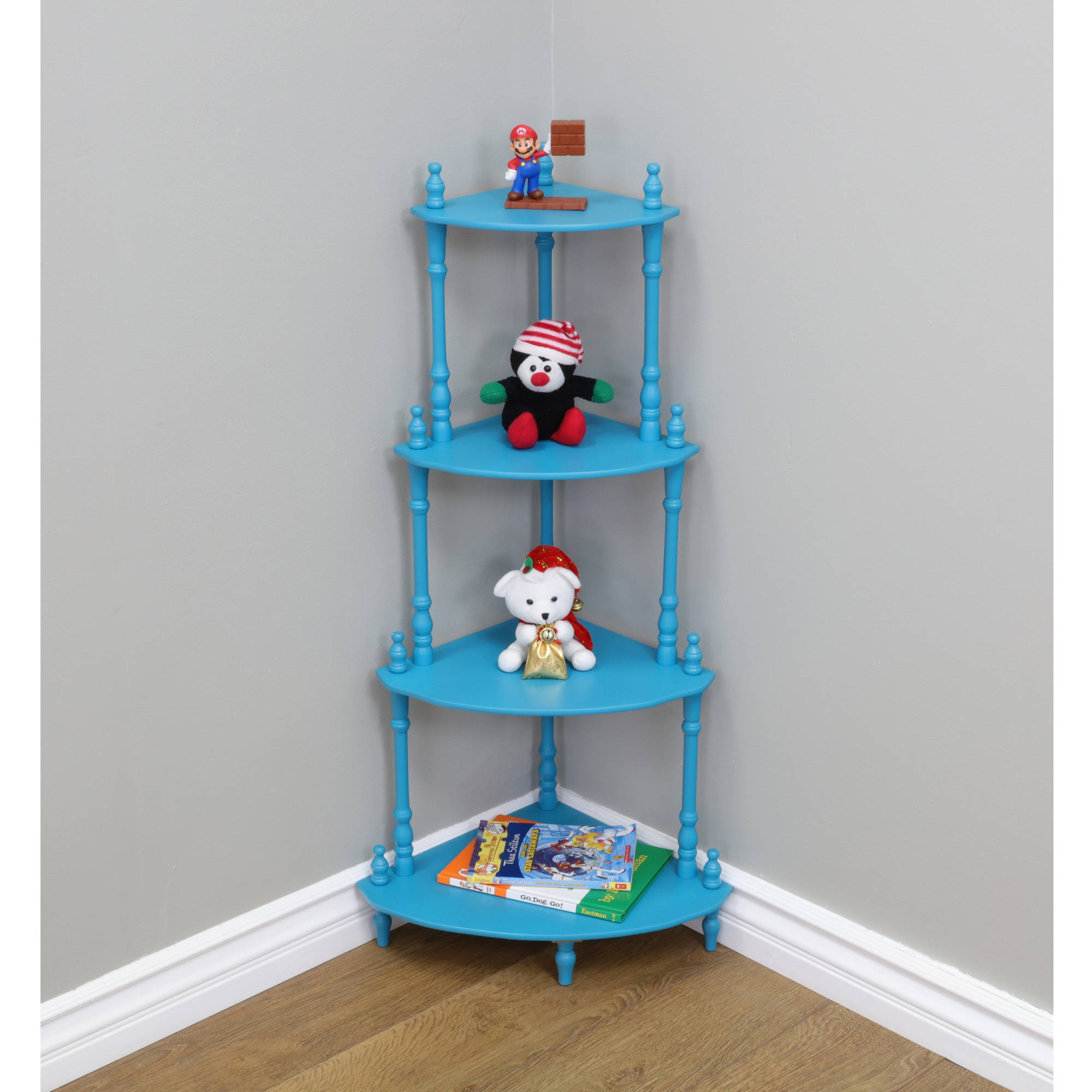 Home Craft Corner Shelves in Multiple Colors