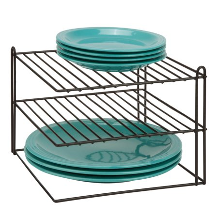 Honey Can Do Coated Steel Wire Corner Shelf