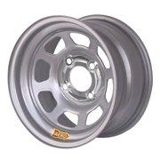 Aero 55-084030 55 Series 15x8 Inch Wheel, 4-lug, 4 on 4 BP