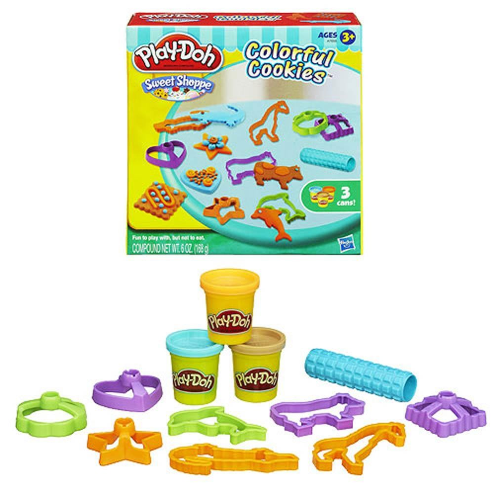 Play-Doh Sweet Shoppe Colorful Cookies Food Set