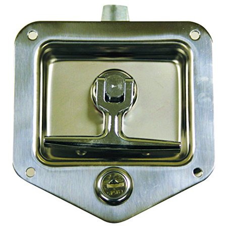Buyers Products L8815 T-Handle Latch (Latch,T-Handle,Sst,Sgl Pt W/Gskt & Ch545) ()