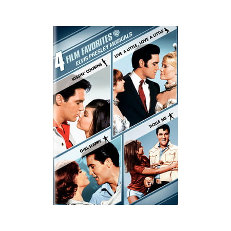 4 Film Favorites: Elvis Presley Musicals (DVD)