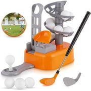 Kids Golf Toy Set, Toddler Golf Sports Toys, Early Educational and Outdoor Exercise Toys for Toddlers, Learning Sports Game for 3, 4, 5, 6, 7 Year Old Boys and Girls