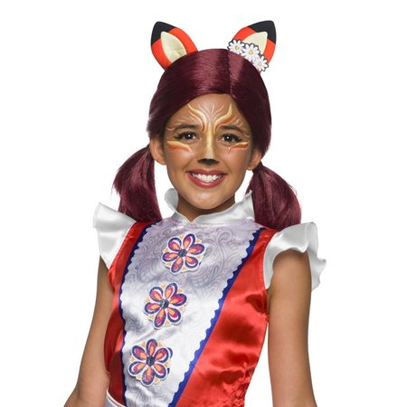 Enchantimals Felicity Fox Girls Wig With Ears Halloween Costume Accessory - Fix Halloween Wigs