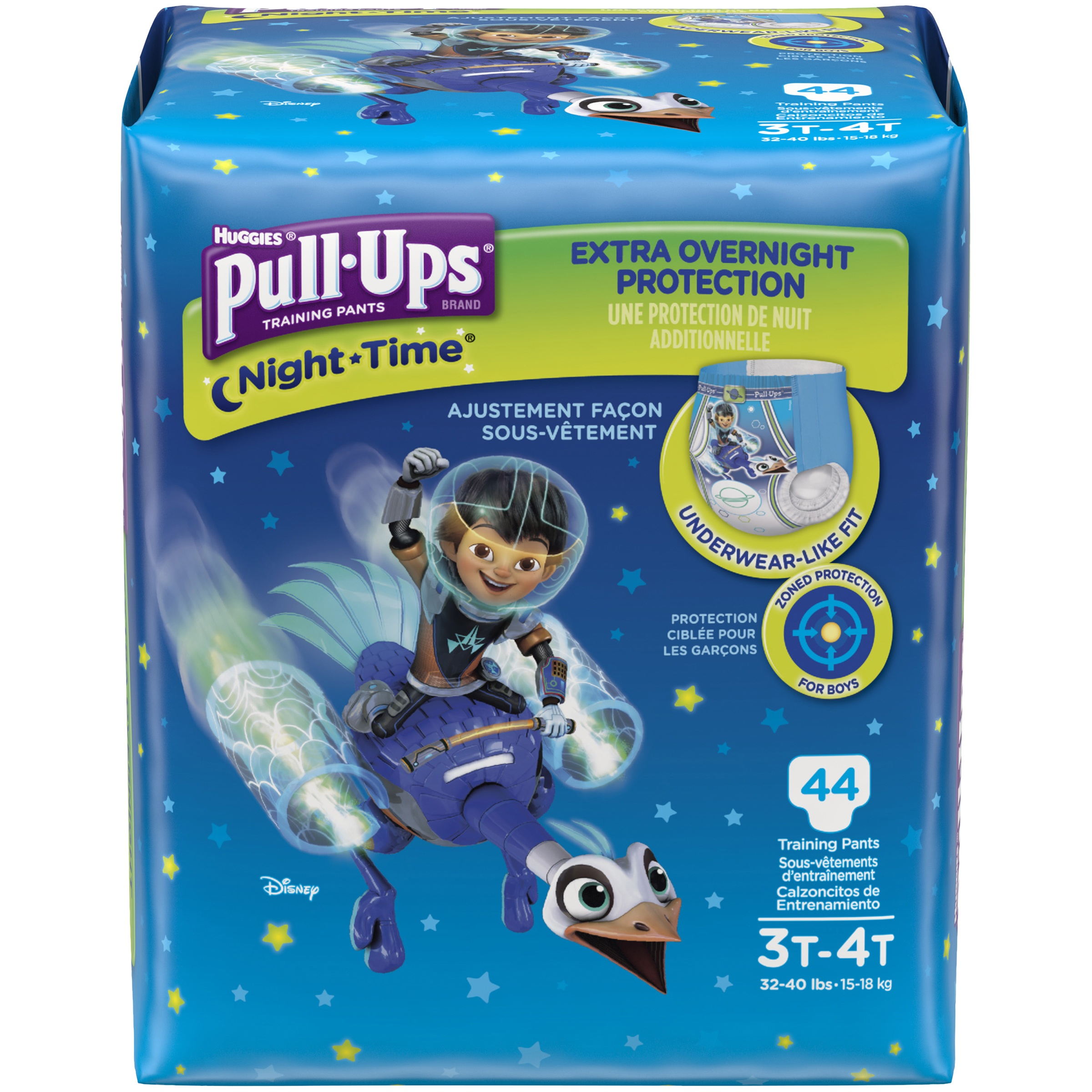 Pull-Ups Boys' Night-Time Training Pants (Choose Pant Size and Count)