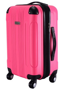 GLOBALWAY Expandable 20'' ABS Luggage Carry on Travel Bag Trolley Suitcase