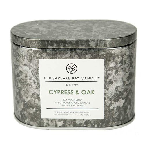 Chesapeake Bay Candles Heritage Double Wick Cypress and ...