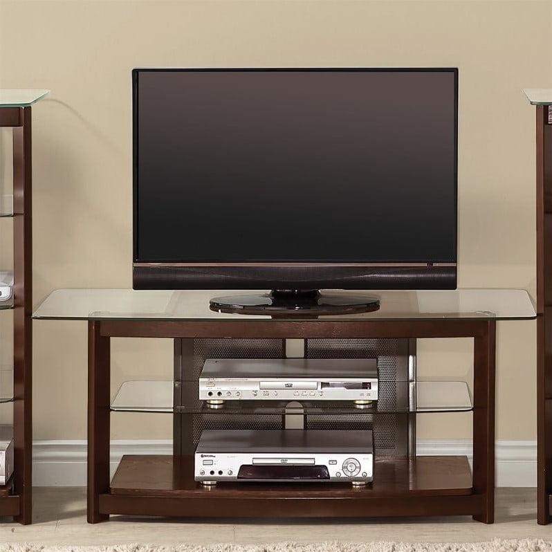 Coaster Company TV Console, Brown