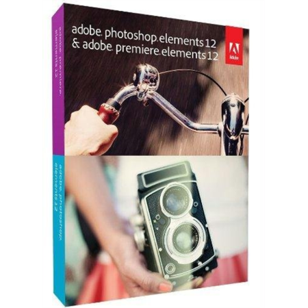 Adobe Photoshop Elements 12 Plus Adobe Premiere Elements 12   Complete Package   1 User   Dvd   Win  Mac   Universal Eng