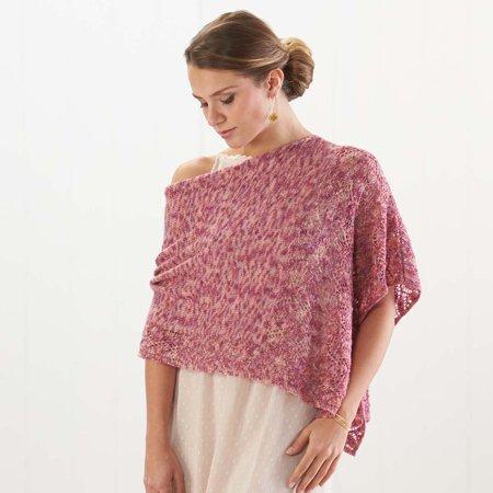 Rose Garden Poncho Knit Pattern