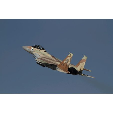 An F-15I Raam of the Israeli Air Force taking off Poster Print by Ofer ZidonStocktrek Images