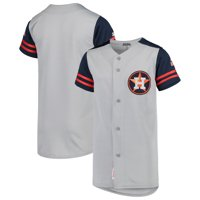 Houston Astros Stitches Youth Team Jersey - Gray/Navy