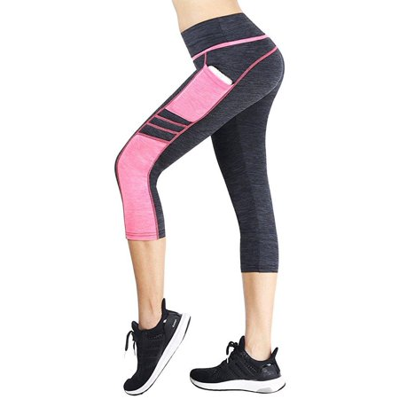 Sugar Pocket Women's Workout Leggings Running Tights Pants