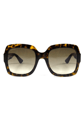 gucci 0036s 002 black 0036s square sunglasses lens category 3 size 54mm