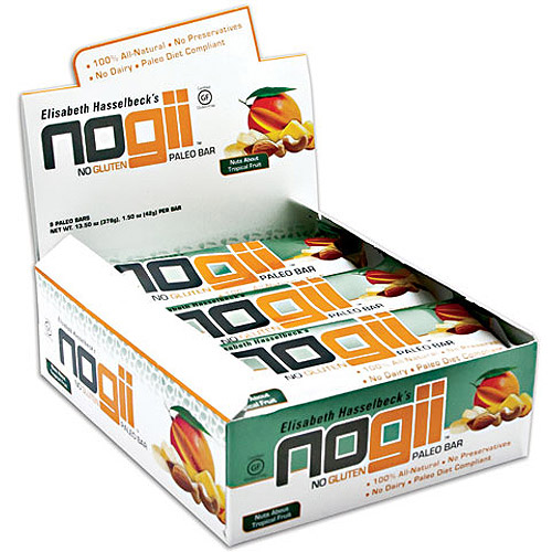 NoGii Paleo Bar Nuts About Tropical Fruit - 9 - 1.5oz (42g) Bars
