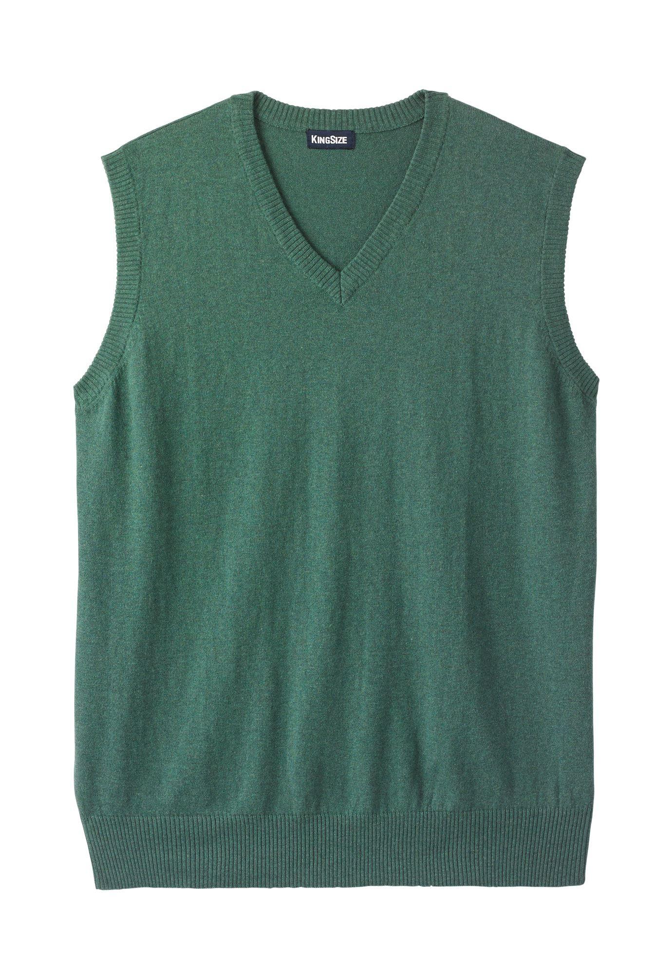 Men's Big & Tall Lightweight V-neck Sweater Vest