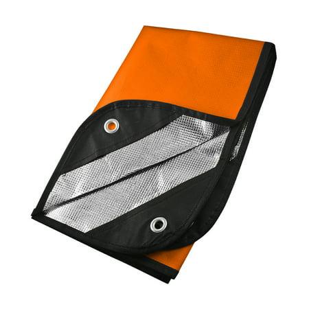 Survival Blanket 2.0, Orange/Reflective