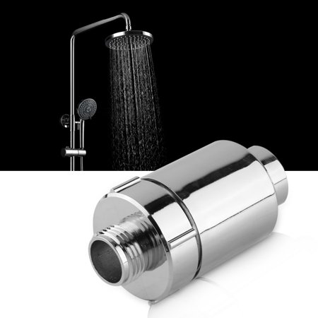 EECOO Shower Head Filter Bathroom Home Water Purifier Softener Chlorine Heavy Metal Remover,Shower Water Filter,Bathroom Water