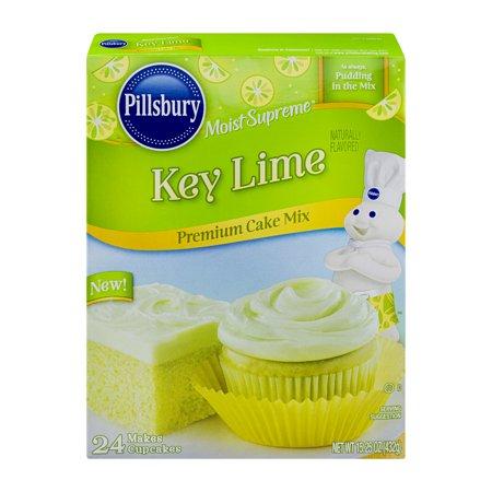 Pillsbury Moist Supreme Key Lime Premium Cake Mix 15 25