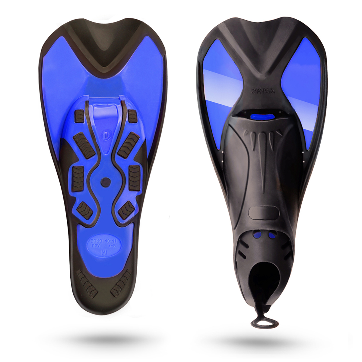 Dive Fins Divers Women Dive Fins Dual Diving Split Fins by Besmall
