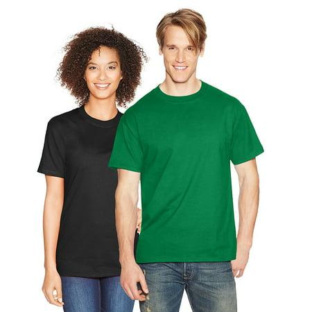 Hanes Mens Short Sleeve Beefy T Shirt