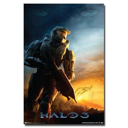 Halo 3 Poster Dawn New 24x36