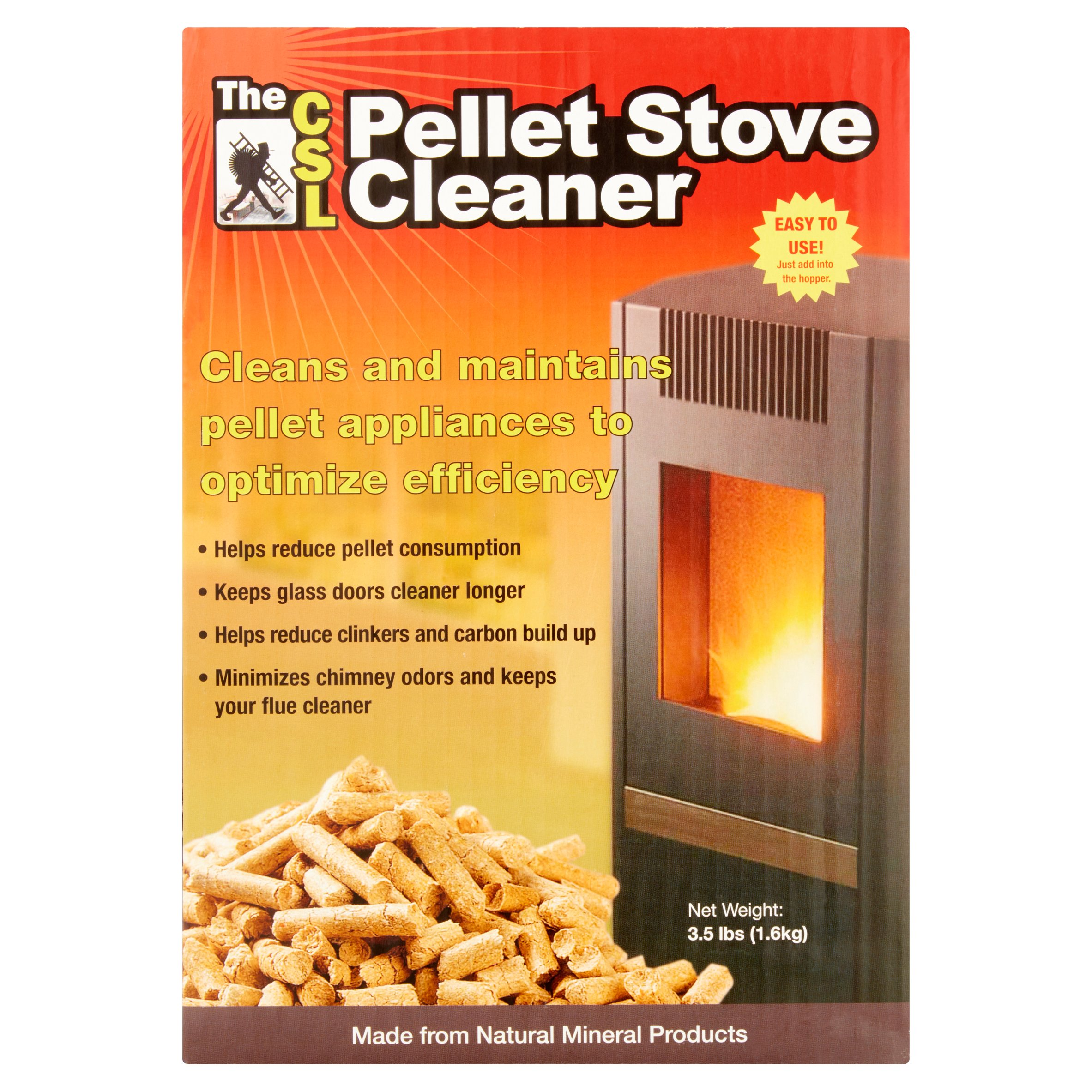 As Seen on TV CSL Pellet Stove Cleaner by Joseph Entrprises Inc.
