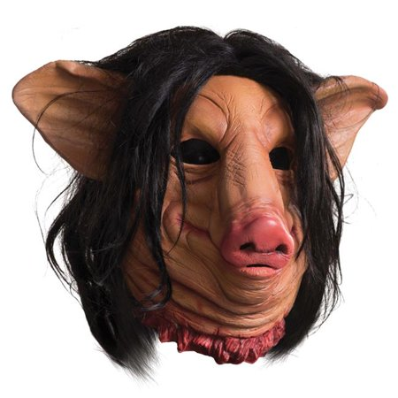 Morris Costumes RU68693 Saw Pig Face Mask - Pig From Saw