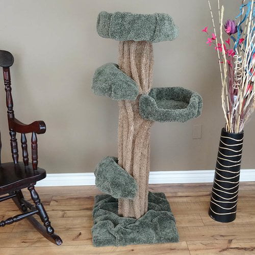 New Cat Condos Premier Cat Tree 51 inch by Overstock
