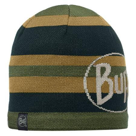 - Buff Headwear Knitted & Polar Winter Hat Beanie Skull Cap Patterned Ovel Black