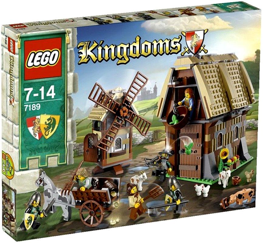 Kingdoms Mill Village Raid Set LEGO 7189