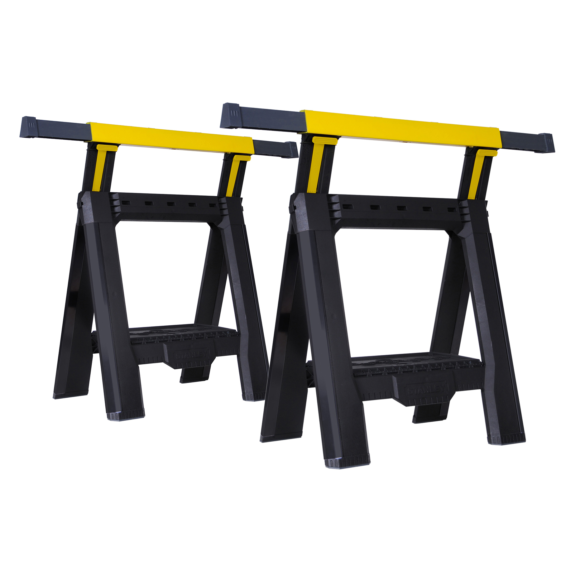 Stanley STST60626 Adjustable Sawhorses 2 Count