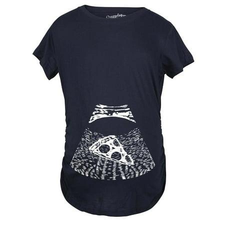 4e6f6ef15e8e6 Crazy Dog Funny T-Shirts - Maternity Ultrasound Pizza Funny T shirt Cheap Pregnancy  Shirts Cool Novelty - Walmart.com