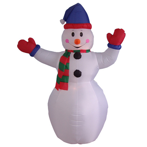 The Holiday Aisle Christmas Inflatable Snowman Decoration