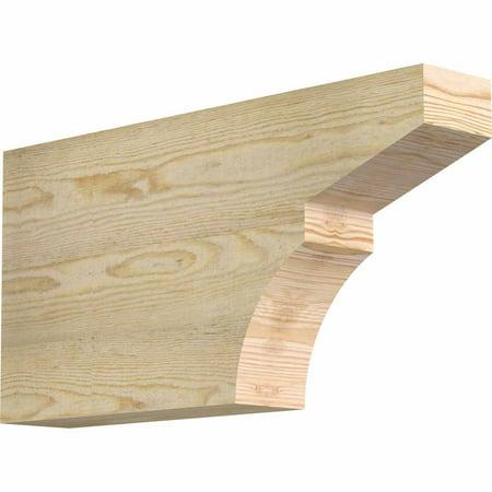 4 W x 12 H x 24 L Monterey Rough Sawn Rafter Tail Douglas Fir