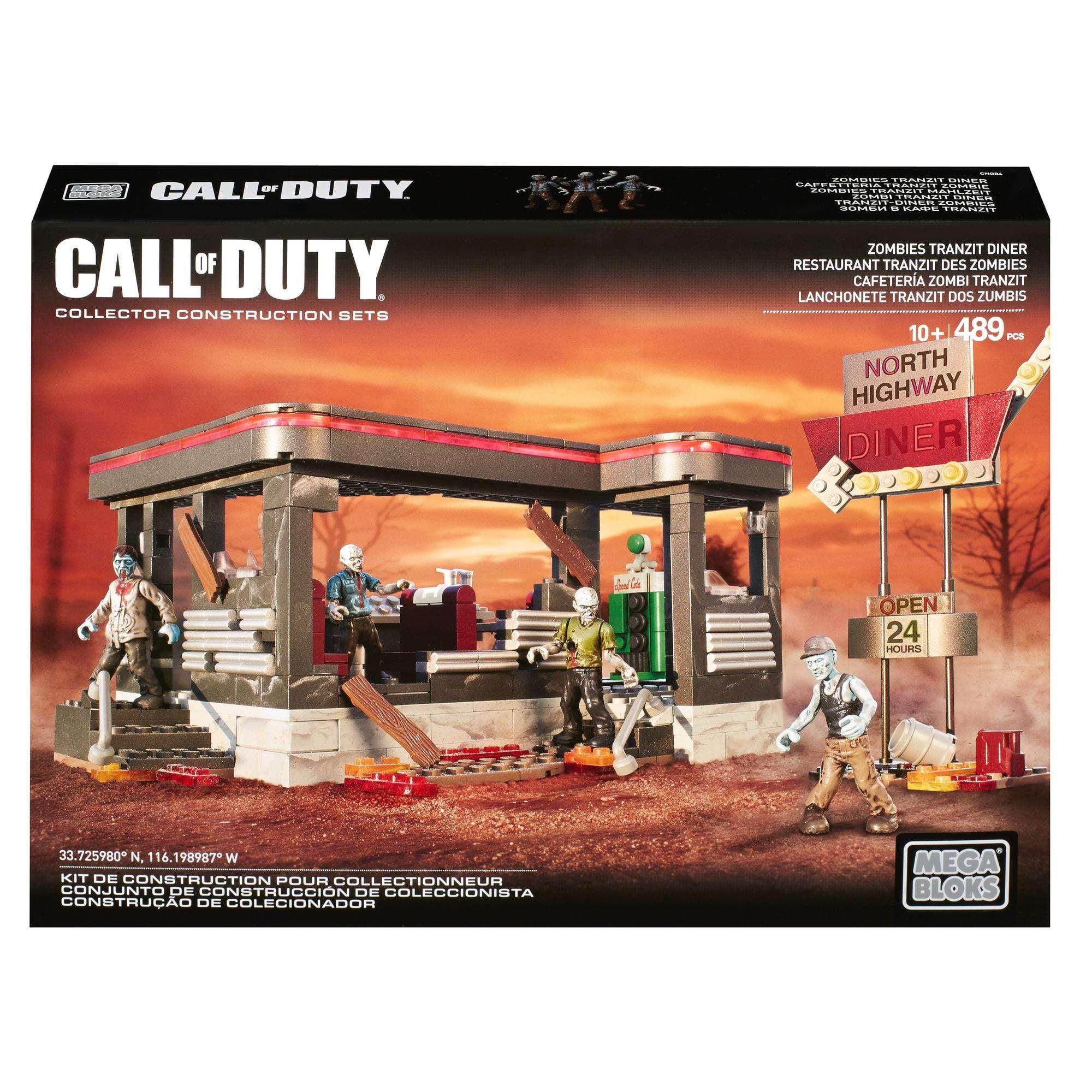 Mega Bloks Call of Duty Zombies TranZit Diner by Mattel