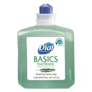 Dial Basics Foaming Hand Soap Refill, 33.8 Fl Oz