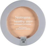 Neutrogena Healthy Skin Pressed Powder, Light to Medium [30] 0.34 oz