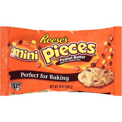 Reese's Peanut Butter Mini Pieces, 10 oz