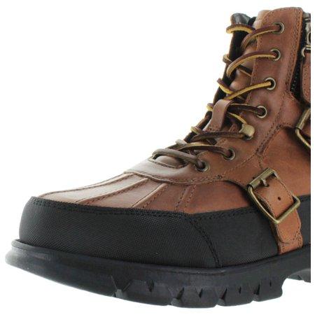 e803f511cb9 Polo Ralph Lauren Demond Men's Leather Duck Boots
