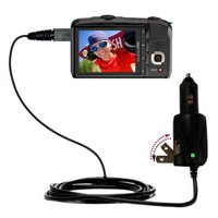 Intelligent Dual Purpose DC Vehicle and AC Home Wall Charger suitable for the Kodak z950 - Two critical functions, one unique charger - Uses Gomadic B