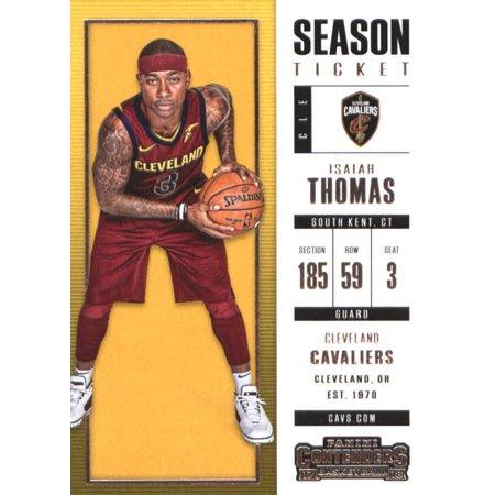 2017-18 Panini Contenders Season Ticket #22 Isaiah Thomas Cleveland Cavaliers Basketball Card