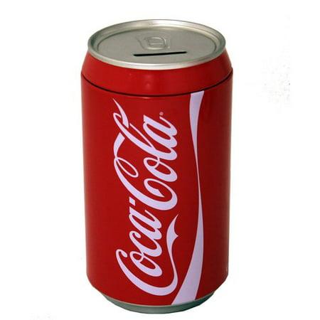 - Tin Box Company Coke Large Can Bank